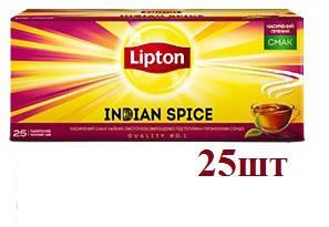 Чай Lipton Indian Spice (черный) 25пак , фото 2