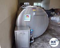 Охладитель молока Б/У Frigomilk 4000 закрытого типа объемом 4000 литров, фото 1