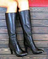 Осенние кожаные сапоги в Украине. Сравнить цены 5b191d65e60d2