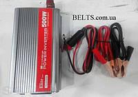 Инвертор автомобильный Power Inverter ELITE lux 12/220v 500 W, преобразователь Павер Инвертер Елит Люкс 500 Ва