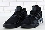 Кроссовки мужские Adidas EQT Bask ADV 30642 черные , фото 2