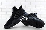 Кроссовки мужские Adidas EQT Bask ADV 30642 черные , фото 3