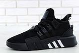Кроссовки мужские Adidas EQT Bask ADV 30642 черные , фото 4