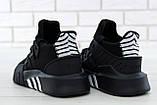 Кроссовки мужские Adidas EQT Bask ADV 30642 черные , фото 6