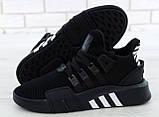 Кроссовки мужские Adidas EQT Bask ADV 30642 черные , фото 8