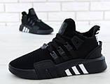 Кроссовки мужские Adidas EQT Bask ADV 30642 черные , фото 9