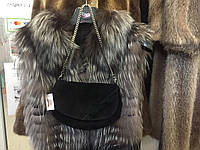 Сумка клатч из натуральной замши, замшевая сумка натуральная кожа, клатч из замши, фото 1