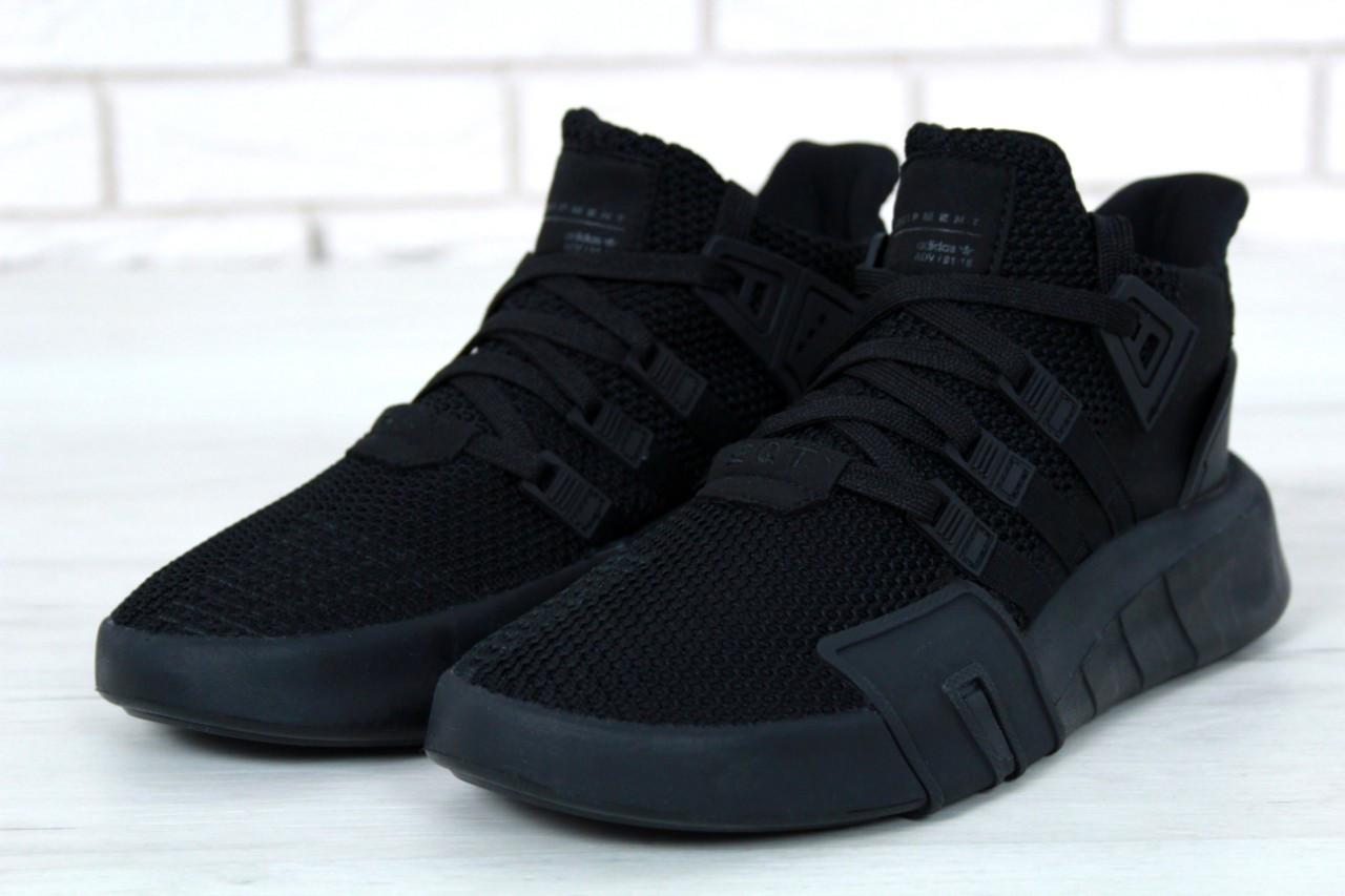 Кроссовки мужские Adidas EQT Bask ADV 30644 черные