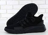 Кроссовки мужские Adidas EQT Bask ADV 30644 черные , фото 2