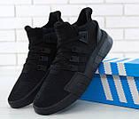 Кроссовки мужские Adidas EQT Bask ADV 30644 черные , фото 4