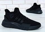 Кроссовки мужские Adidas EQT Bask ADV 30644 черные , фото 5