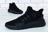 Кроссовки мужские Adidas EQT Bask ADV 30644 черные , фото 9