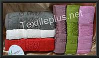 Комплект бамбуковых банных полотенец Cestepe - Premium - 100% бамбук / махра - 70*140 - 6шт. - Турция -