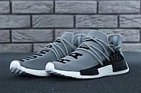 Кроссовки мужские Adidas x Pharrell Williams Human Race NMD 30656 серые, фото 1
