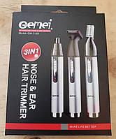 Триммер для носа, ушей, висков и шеи Gemei GM 3107