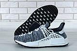 Кроссовки мужские Adidas x Pharrell Williams Human Race NMD 30657 серые , фото 3