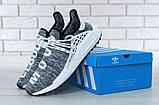Кроссовки мужские Adidas x Pharrell Williams Human Race NMD 30657 серые , фото 5