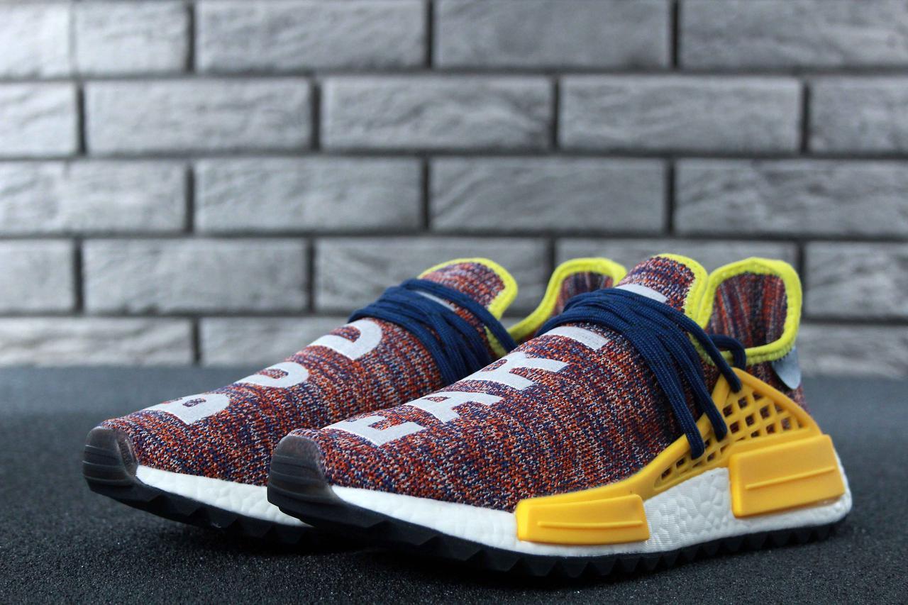 Кроссовки мужские Adidas x Pharrell Williams Human Race NMD 30658  разноцветные