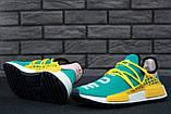 Кроссовки мужские Adidas x Pharrell Williams Human Race NMD 30665 разноцветные, фото 2