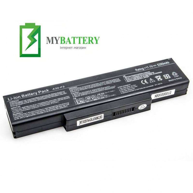 Аккумуляторная батарея Asus A32-F3 A9 F2 M51 S62 S6F S96 Z53 Z9T Z94 Z96