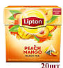 Чай Lipton пирамидки Peach Mango (персик манго) 20пак