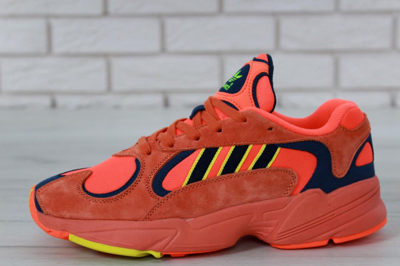 Кроссовки мужские adidas Yung-1 30728 красные