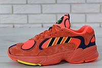 Кроссовки мужские adidas Yung-1 30728 красные, фото 1
