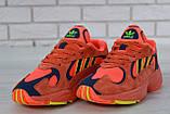 Кроссовки мужские adidas Yung-1 30728 красные, фото 4