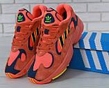 Кроссовки мужские adidas Yung-1 30728 красные, фото 5