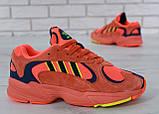 Кроссовки мужские adidas Yung-1 30728 красные, фото 6