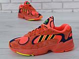 Кроссовки мужские adidas Yung-1 30728 красные, фото 7