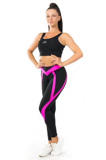 Одежда для йоги и фитнеса (размеры 42-44; 44-46; 46-48) (розовый) женская одежда для спорта из бифлекса