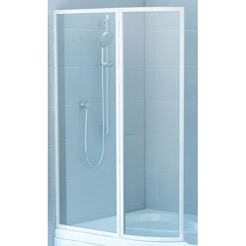 Штора для ванны RAVAK VSK2 Rosa 160 R Rain 76P9010041