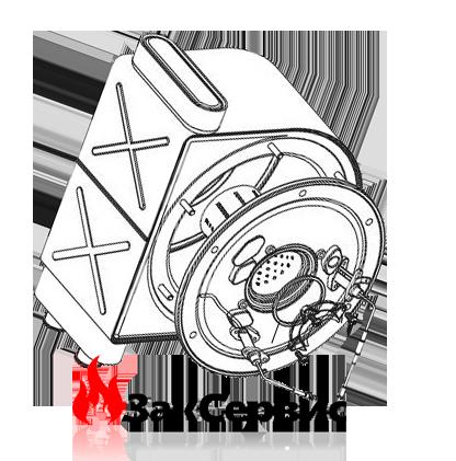 Первичный теплообменник на конденсационный газовый котел Ariston ACO 30 кВт61313763