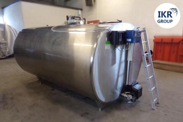 Охладитель молока Б/У ALFA LAVAL 6000 закрытого типа объемом 6000 литров