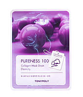 Tony Moly Pureness 100 Collagen Mask Sheet маска для эластичности кожи