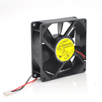 Кулер корпусной Merlion 8025 DC sleeve fan 3pin - 80*80*25мм, 1500об/мин