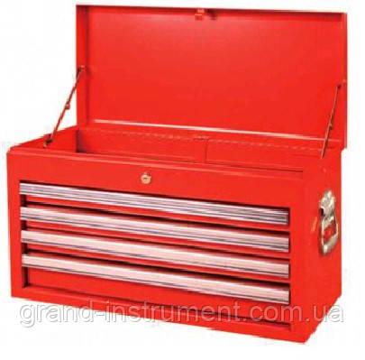 Ящик для инструмента  4 секции  660(L)x313(W)x377(H)mm    TORIN  TBT6904-X