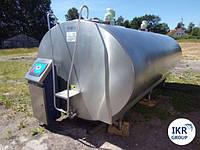 Охладитель молока Б/У Serap 8000 закрытого типа объемом 8000 литров