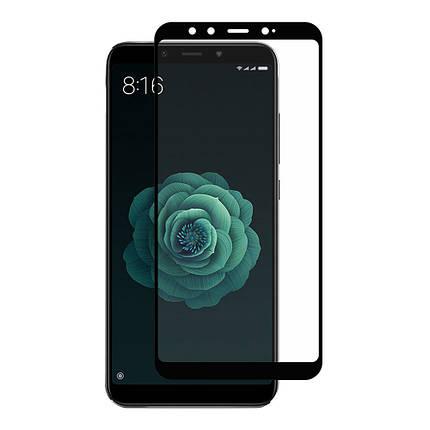 Стекло Full Coverage для Xiaomi Mi A2 цвет Black, фото 2