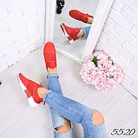 Кроссовки женские Ready красные, фото 1
