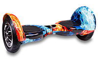 Гироборд Smart Balance U8 TaoTao APP 10 дюймов Fire and Ice (огонь и лёд), фото 1