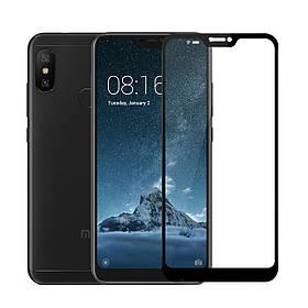 Стекло Full Coverage для Xiaomi Mi A2 lite цвет Black