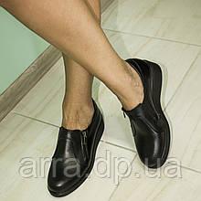 Туфли женские из натуральной кожи от производителя.