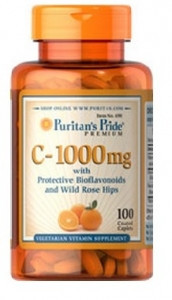Puritan's Pride C -1000 100 каплет.Витамины.