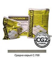 Затирка LITOCHROM 1-6 С.700 светло-серый (5 кг)