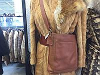 Модная сумка через плечо, кросс-боди сумка натуральная кожа, сумка кожаная, сумка из кожи фирменная, фото 1