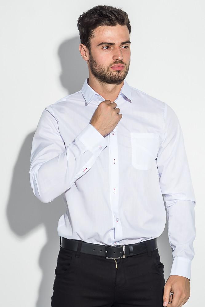 Рубашка мужская офисного стиля 3220-3 (Белый)