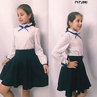 Блузка школьная на девочку 717 (09) Код:722255367