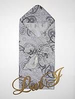 """Одеяло-конверт""""Малютка"""" (лето) (белый/разноцветный, бязь/бязь, (85*85)), фото 1"""